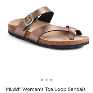 NWT Mudd Sandal